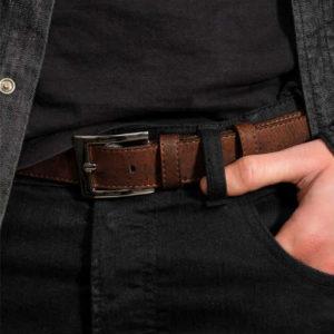 brown belt, cork belt, corkor belt, cruelty free belt, durable belt, faux leather belt, mens belt, non leather belt, vegan belt