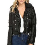 ashville, black jacket, faux leather, faux leather jacket, free people vegan jacket, leather jacket, vegan jacket, vegan leather jacket