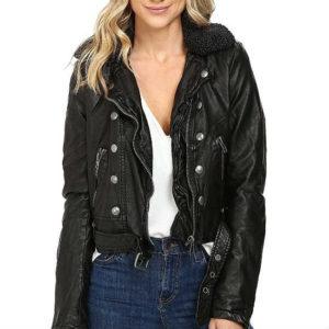 ashville, black jacket, faux leather, faux leather jacket, free people vegan jacket, leather jacket, vegan jacket, vegan leather jacket