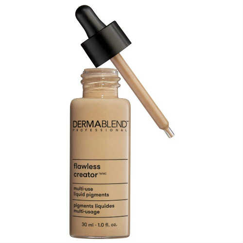 dermablend drop foundation, vegan foundation, cruelty free foundation, drop foundation, silky finish, liquid drop foundation