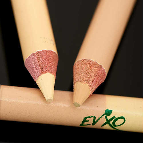 evxo vegan pencil, evxo cruelty-free pencil, evxo makeup, vegan pencil, vegan concealer, vegan duo pencil, vegan pencil, vegan highlighter, cruelty-free pencil, cruelty-free concealer, cruelty-free highlighter