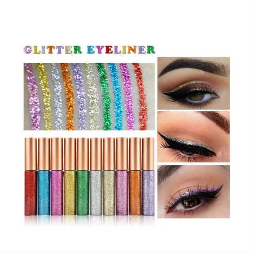 glitter eyeliner, glitter eyeshadow, glitter lipstick, vegan glitter eyeliner, vegan eyeliner, vegan makeup, cruelty-free makeup, cruelty-free eyeliner