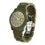 green watch, green sandalwood watch, vegan watch, organic watch, wooden watch, wooden men watch, wooden women watch