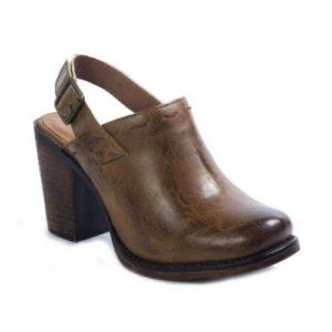 vegan shoes, vegan mules, vegan clogs, tan shoes, brown shoes, pierre dumas shoes, slingback shoes, clogs