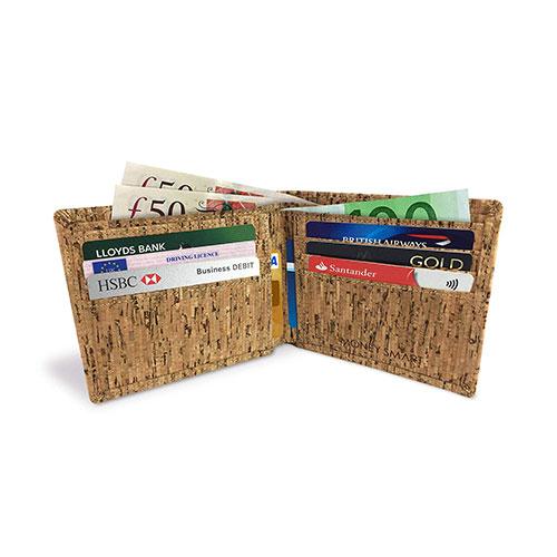 money smart wallet, rfid blocking wallet, vegan wallet, vegan mens wallet, cork wallet, smooth wallet
