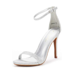 silver shoes, vegan shoes, vegan sandals, vegan stiletto, vegan high heel