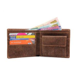boshiho wallet, cork wallet, mens wallet, vegan wallet, cruelty free waller