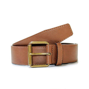wills vegan belt, vegan belt, jeans belt, chestnut belt, vegan mens belt